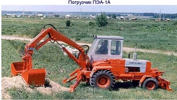Область использования и технические характеристики погрузчика Карпатец ПЭА-1А