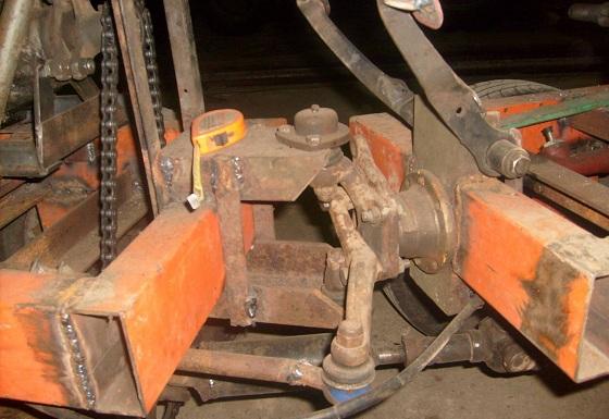 Рама для самодедльного трактора