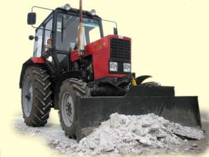 Фото: Отвал для трактора МТЗ-82 своими руками