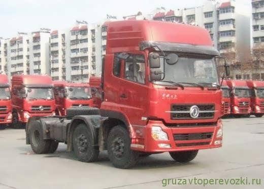 Грузовые автомобили DongFeng