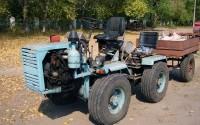 Самодельный трактор на базе Т 16