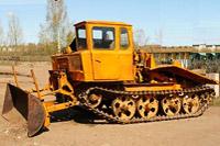 Трелёвочный трактор ТДТ-55