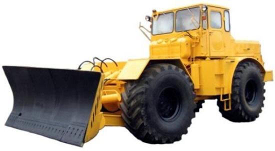 Рисунок 2 Средний бульдозер на базе трактора