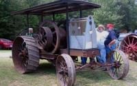 Самодельный американский трактор