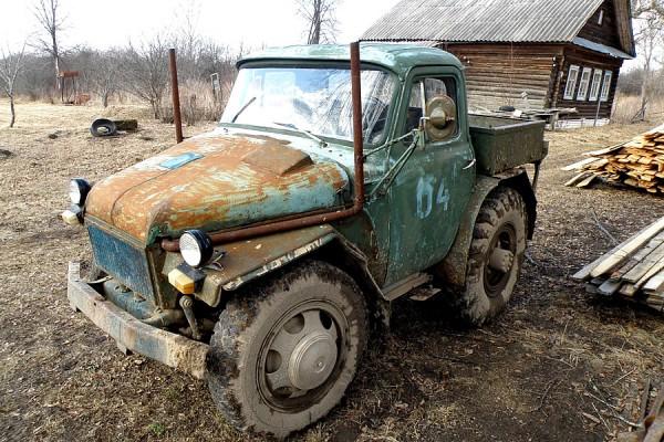 Вал отбора мощности в самодельном тракторе