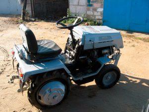 Мини трактор АМЖК-8