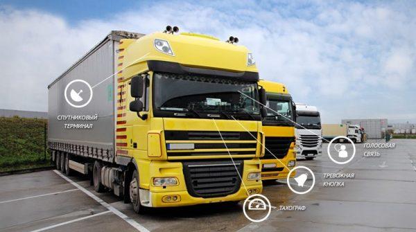 Спутниковый мониторинг и отслеживание грузов